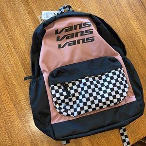 Vans Backpack Brand New